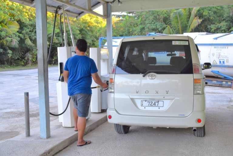 The Gas Station in Niue