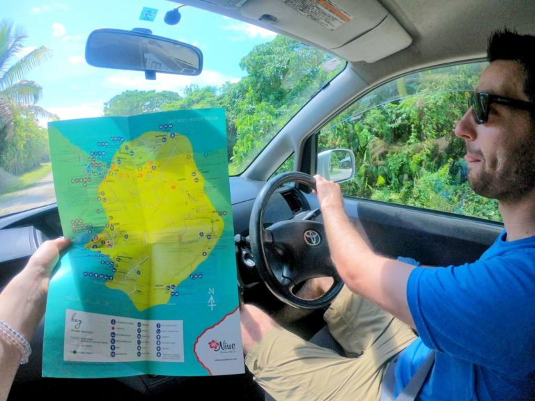 The Driving Times from Alofi