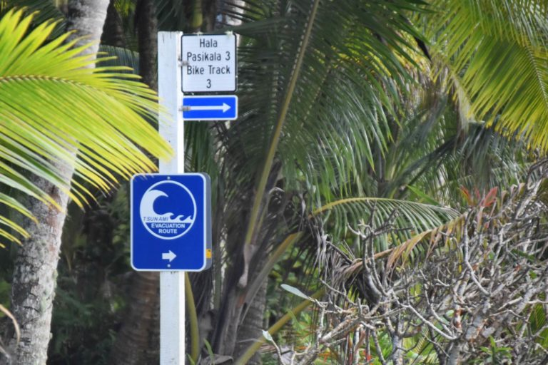 The Cycling Times & Distances in Niue